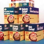 Emballages pour étagères des années 70