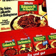 Knorr displays from Gissler & Pass for 35 years