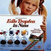 """Affiche de présentation des fameux """"ETN"""" de Trumpf (Précieuses gouttes dans la noisette)"""