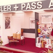 1970 Fair stand at the Rhineland Show