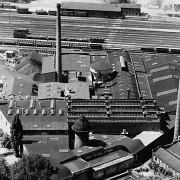 Photographie aérienne de 1953