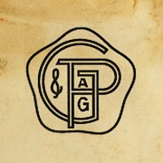 The first Gissler & Pass logo from 1882