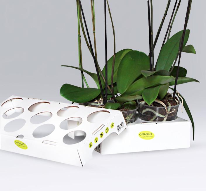 Moisture-resistant flower tray