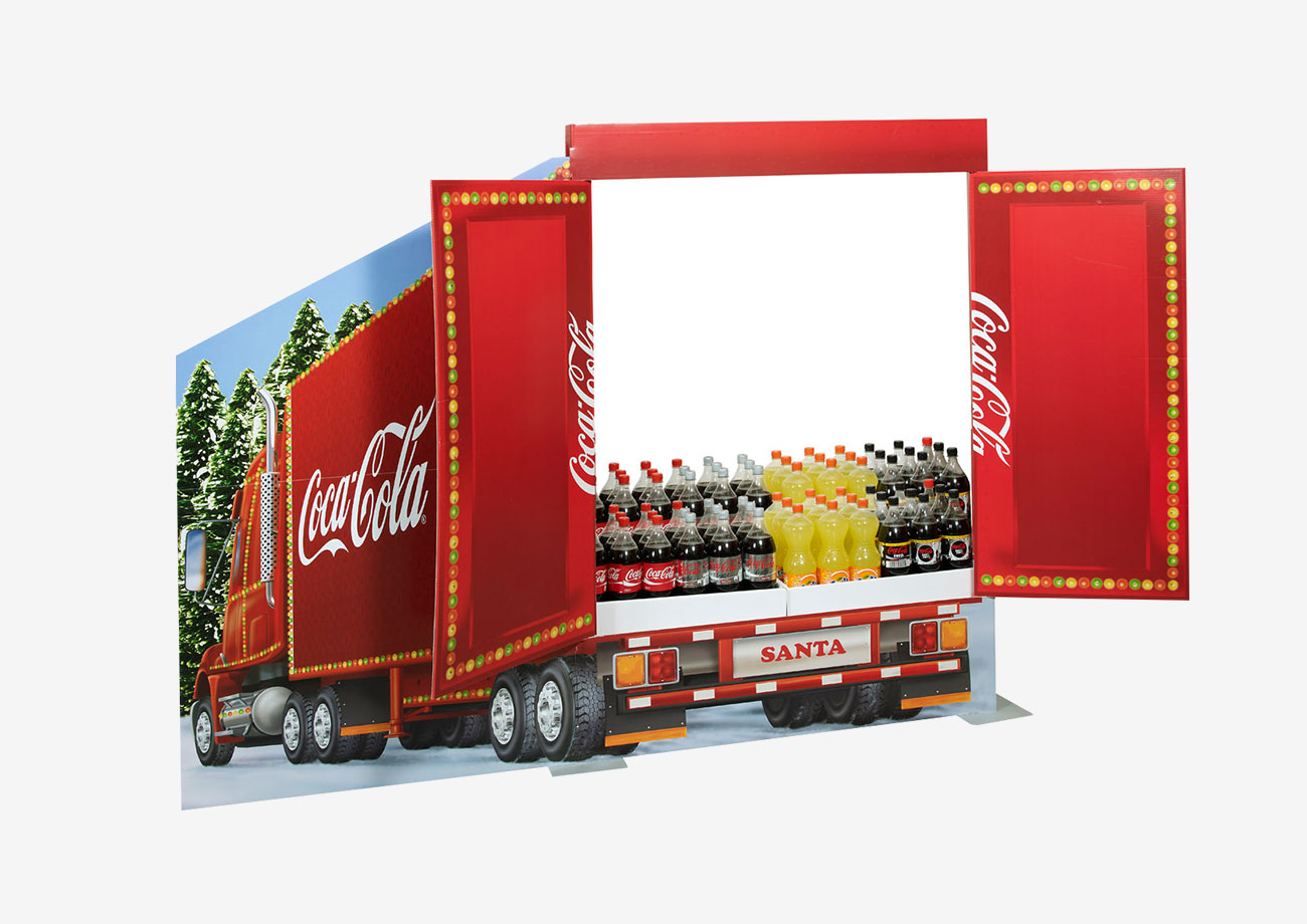 Coca-Cola Großplatzierung