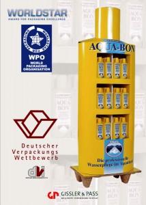 Das Vitakraft-Display erhält den Deutschen Verpackungspreis und den World Star Award.