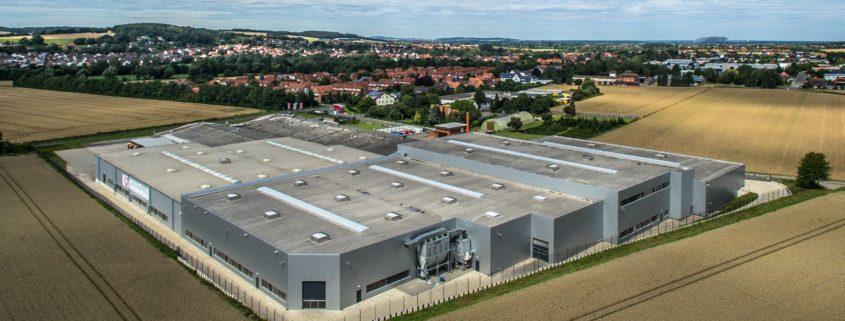Luftaufnahme Werk Rodenberg 2016 845x321 - Rodenberg: Schnelligkeit als Erfolgsfaktor