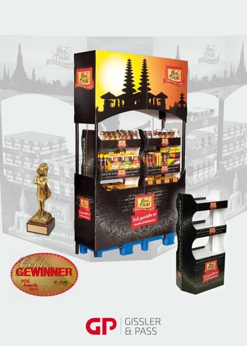 POS-Display Konzept für Feinkost Dittmann mit Gold ausgezeichnet